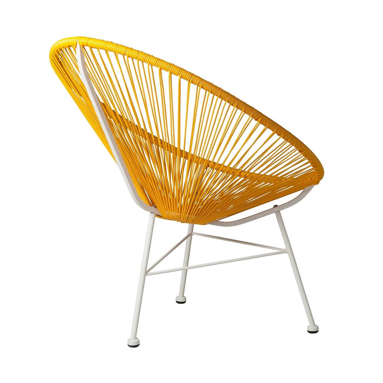 Bon Acapulco Indoor / Outdoor Lounge Chair, Yellow ...