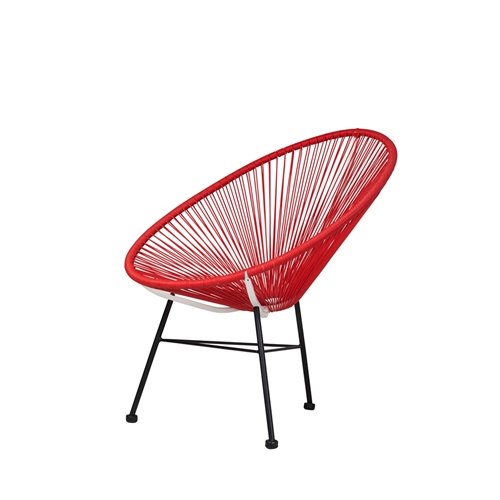 Acapulco Lounge Chair - Red