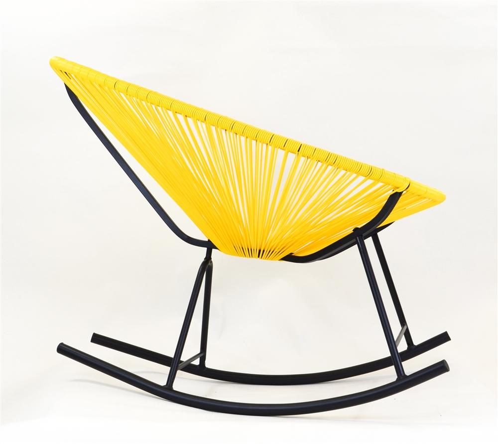 Delicieux Acapulco Indoor / Outdoor Rocking Chair In Yellow