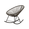 Acapulco Indoor / Outdoor Rocking Chair - Grey