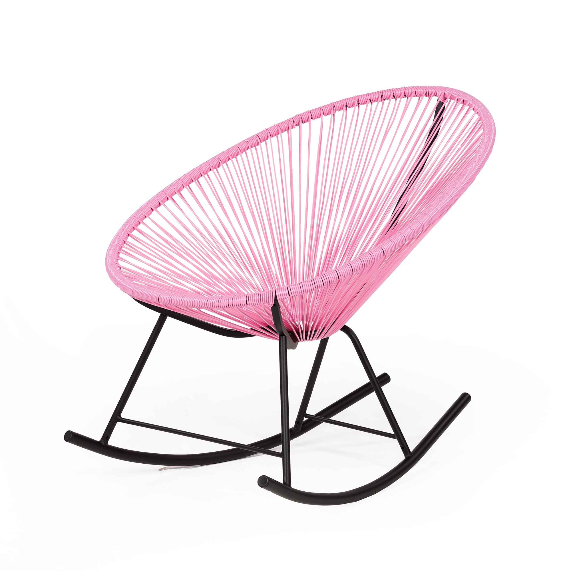 Outstanding Acapulco Rocking Chair Pink Ibusinesslaw Wood Chair Design Ideas Ibusinesslaworg