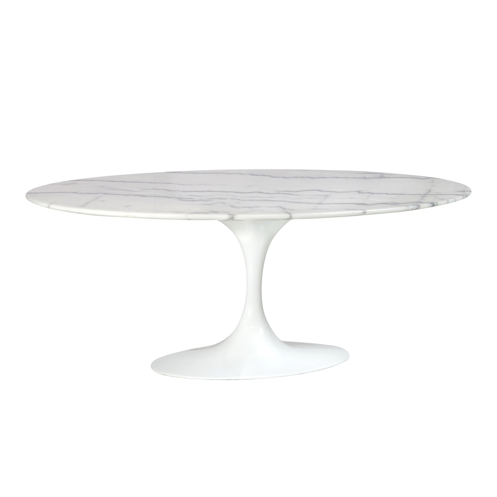 Style Tulip Marble Coffee Table 42