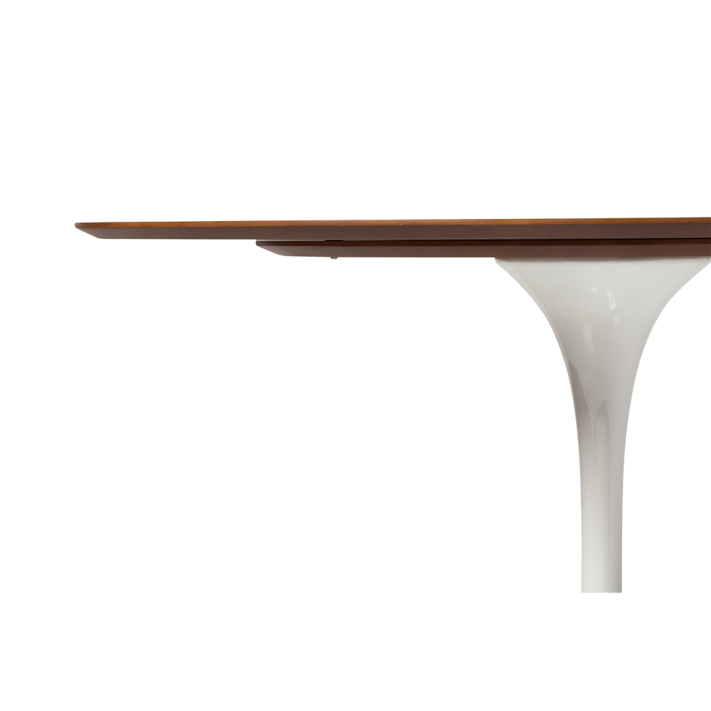 Saarinen Style Tulip Walnut Dining Table ...