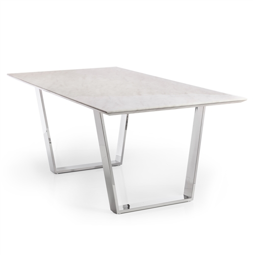 Versailles White Marble Dining Table