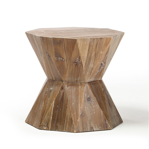 Arlo Reclaimed Fir Wood End Table