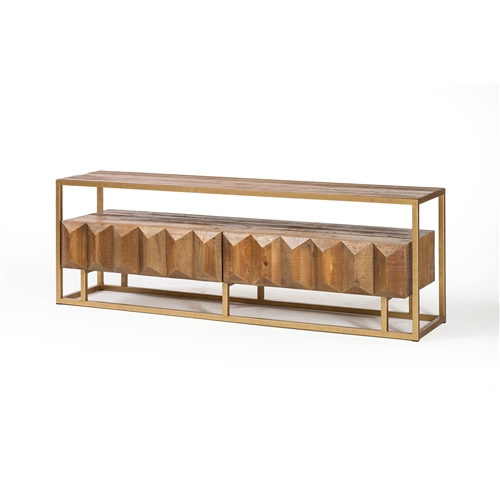 Horus Reclaimed Elm Media Console