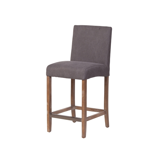James Counter Stool in Frost Grey