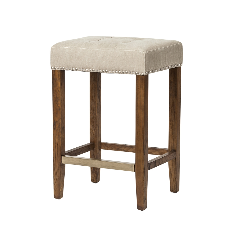 Ash Counter Stool in Beige