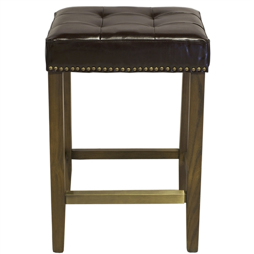 Ash Counter Stool in Leather