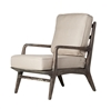 Murphy Lounge Chair in Natural White