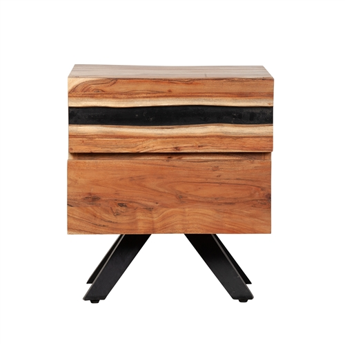 Prana Reclaimed Mango Wood Nightstand