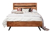 Prana Reclaimed Mango Wood Queen Bed Frame
