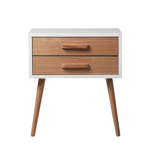 Spencer Two Drawer Nightstand