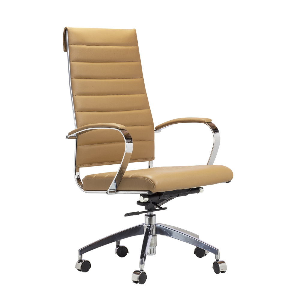 Eames Style Management Chair In Brown Larger Photo Email A Friend