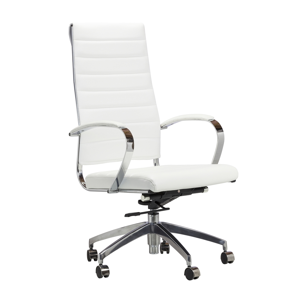 Eames Style Management Chair In White Larger Photo Email A Friend