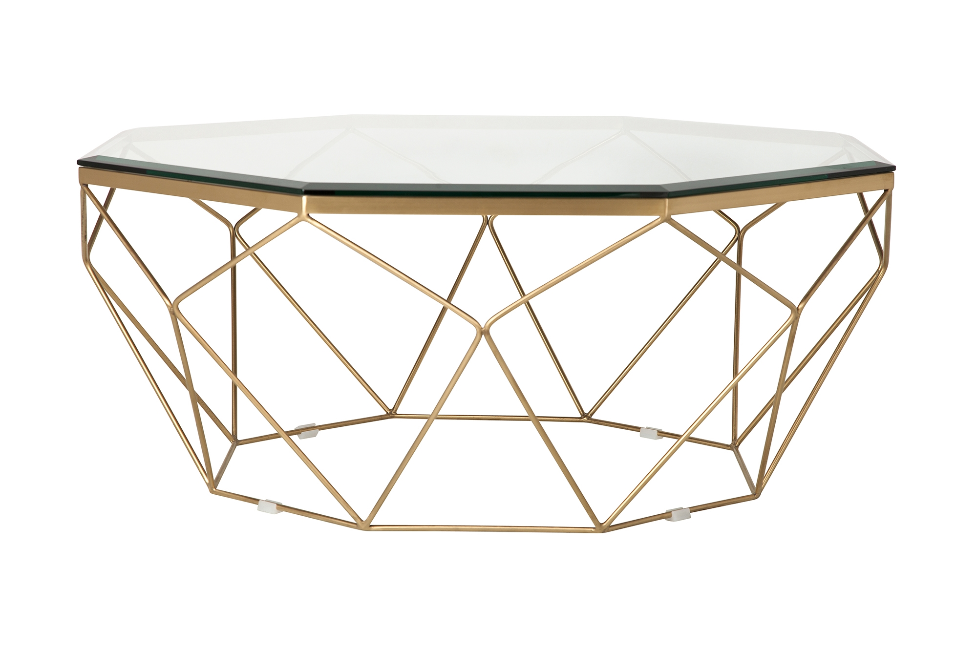 Marlow Antique Brass Coffee Table The Khazana Home Austin Furniture