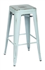 Tolix Bar stool in Antique Sky Blue