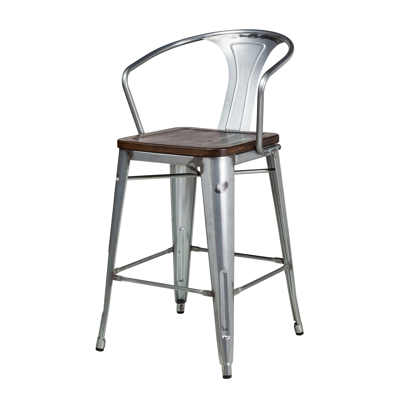 Outstanding Bastille Counter Stool With Walnut Seat Squirreltailoven Fun Painted Chair Ideas Images Squirreltailovenorg