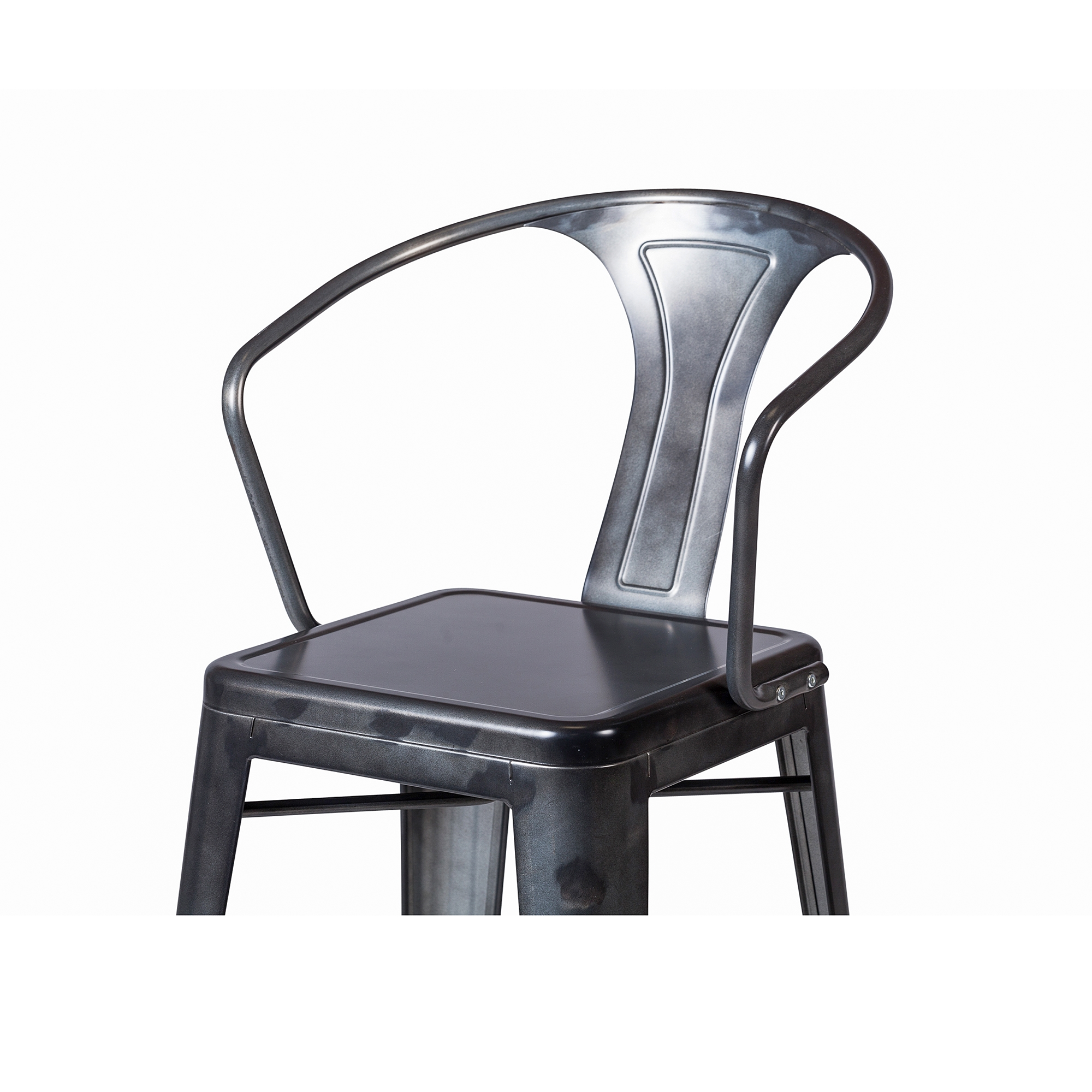 Bastille Counter Stool Dark Gun Metal