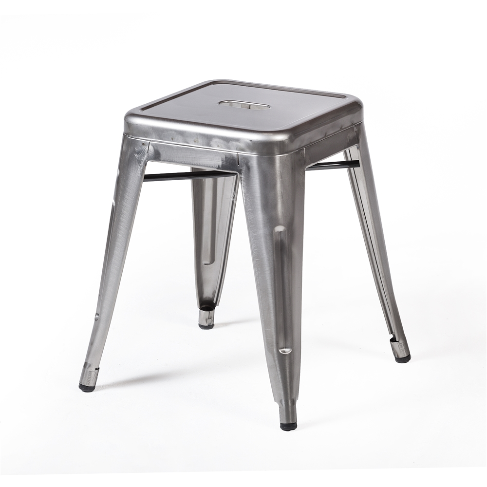 Bastille Stool in Gun Metal