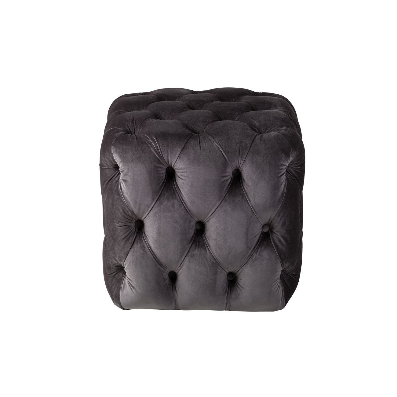 Remarkable Grace Tufted Ottoman In Plum Grey Ncnpc Chair Design For Home Ncnpcorg