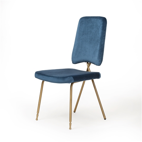 Zadie Blue Dining Chairs, Set of 4