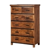 Owen Reclaimed Mango Wood Tall Dresser