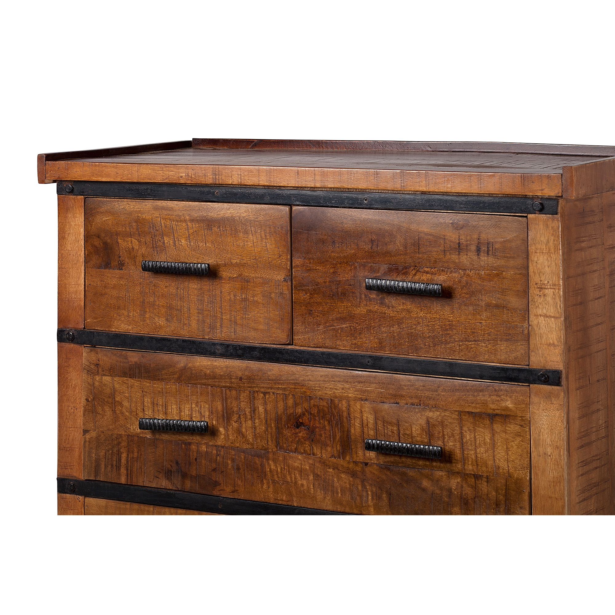 metal drawers raw dresser chest madison w ea frame wood