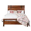 Owen Reclaimed Mango Wood Queen Bed Frame