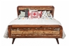 Paloma Reclaimed Mango Wood Queen Bed Frame