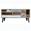Vintage Patchwork Large Entertainment Console