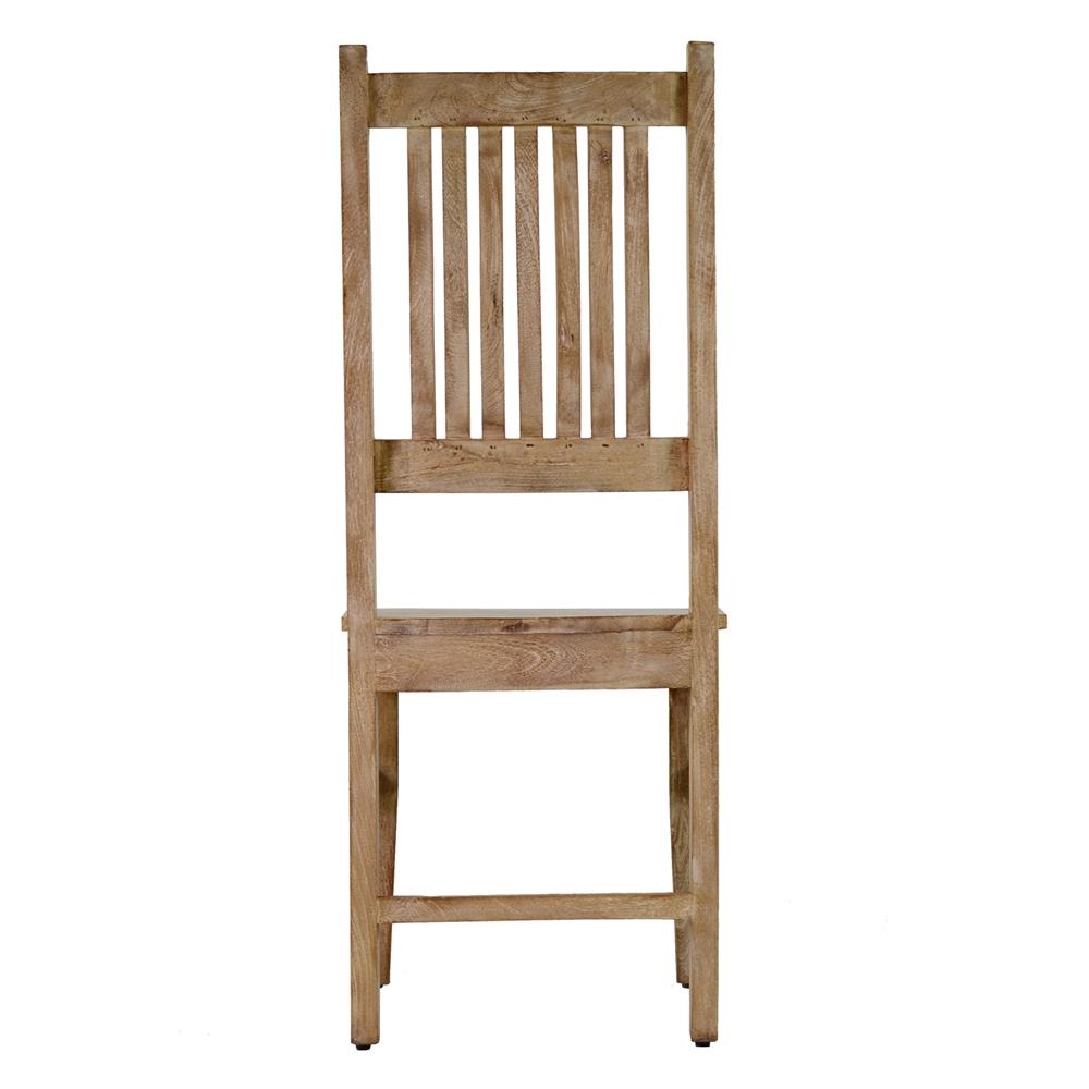 Attirant Mango Wood Ladder Backed Chair
