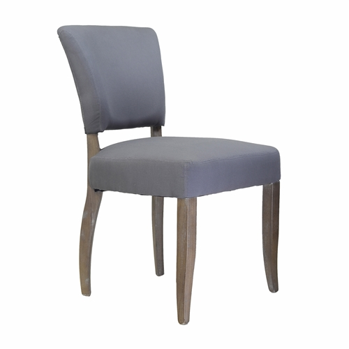 Adele Side Chair in Frost Grey