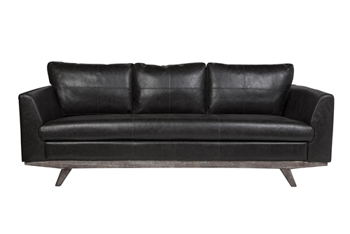 Maxwell 3 Seater Leather Sofa