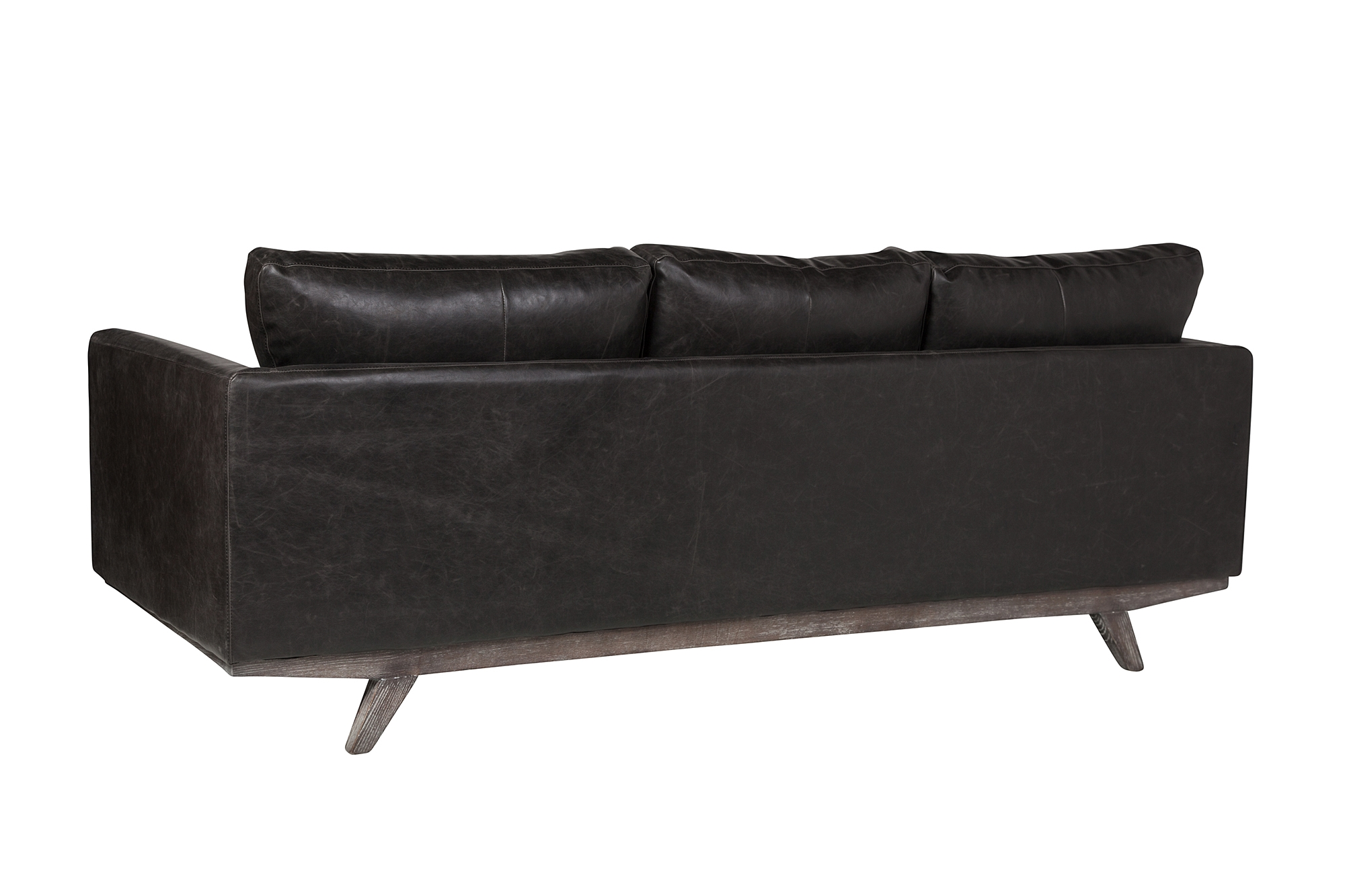 Maxwell 3 Seater Leather Sofa The Khazana Home Austin Furniture Store