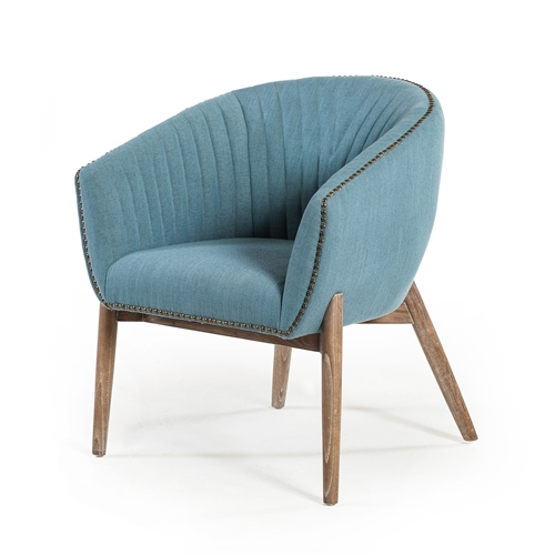 Ephram Occasional Chair in Light Blue