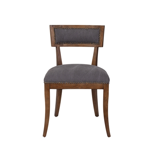 Cartwright Dining Chair In Frost Grey
