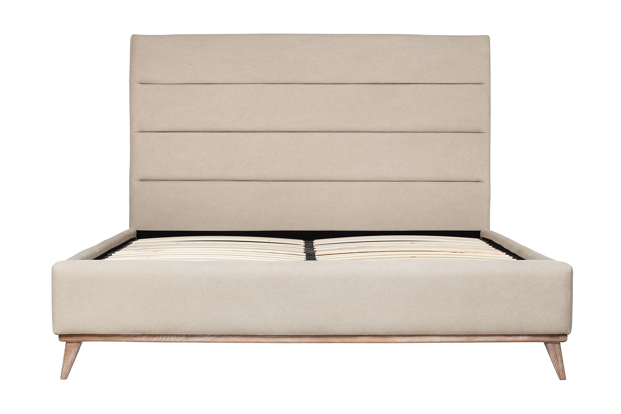 Cooper Upholstered King Bed Frame, The Khazana Home Austin Furniture ...