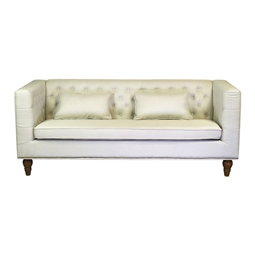 Giselle 3 Seater Sofa in Cream