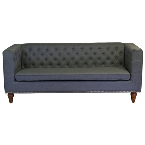Giselle 3 Seater Sofa in Grey