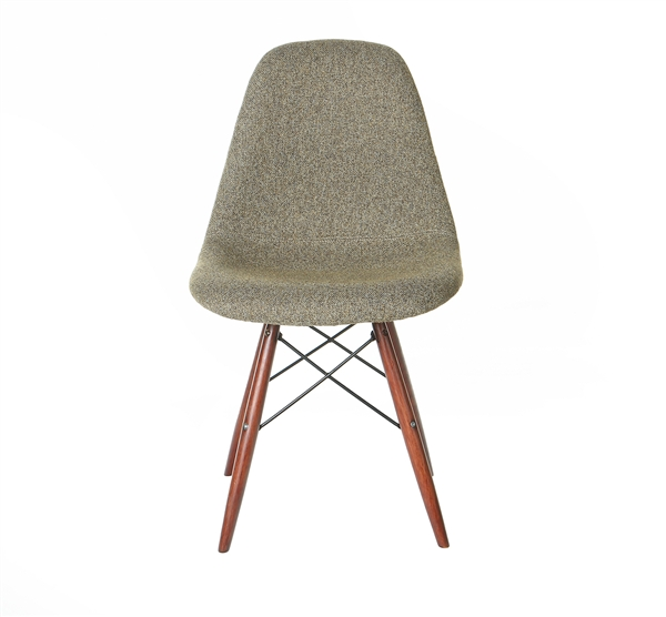 Molded Mid-Century Side Chairs, Grey