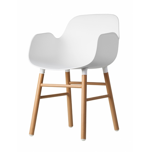 Penny Arm Chair in White