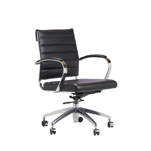 Eames Style Management Chair in Black