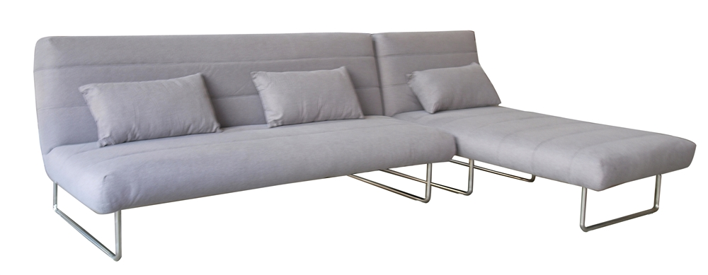3 Seater Sectional Sleeper And Chaise Lounge