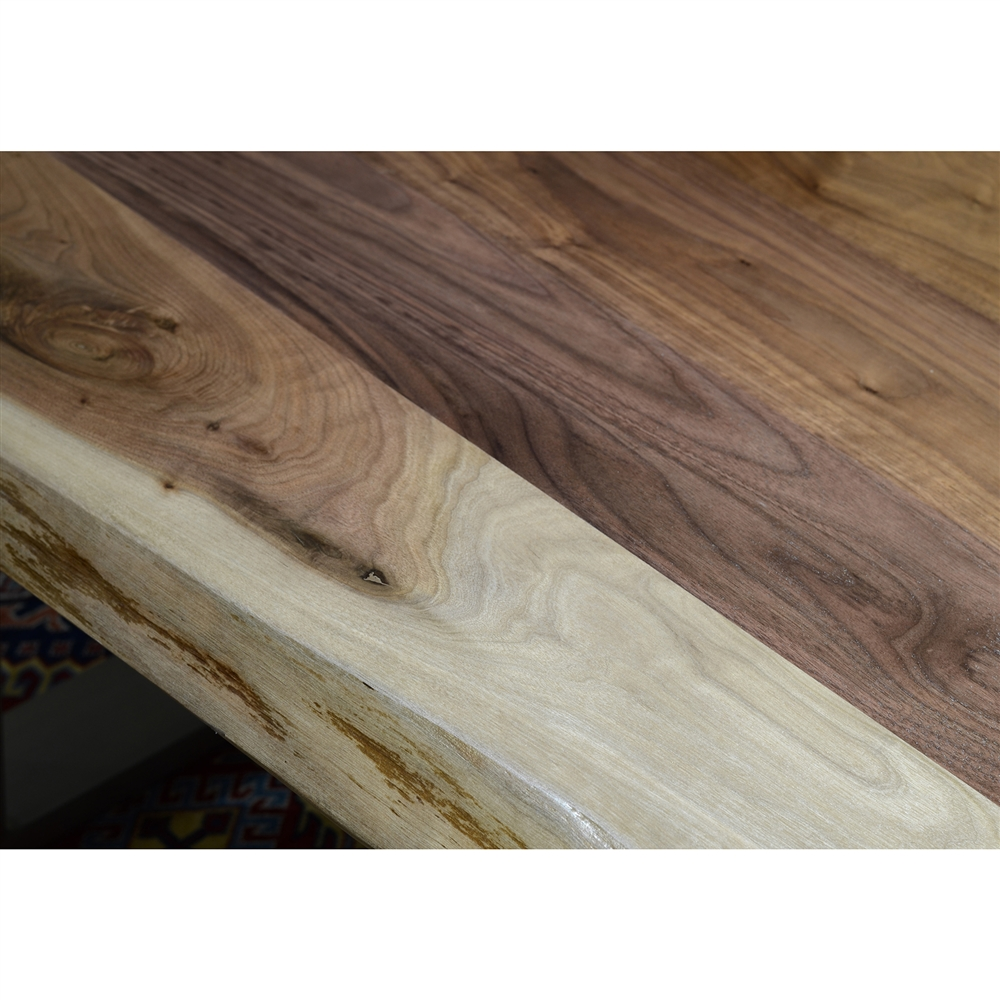 Live Edge Slab Dining Table 84