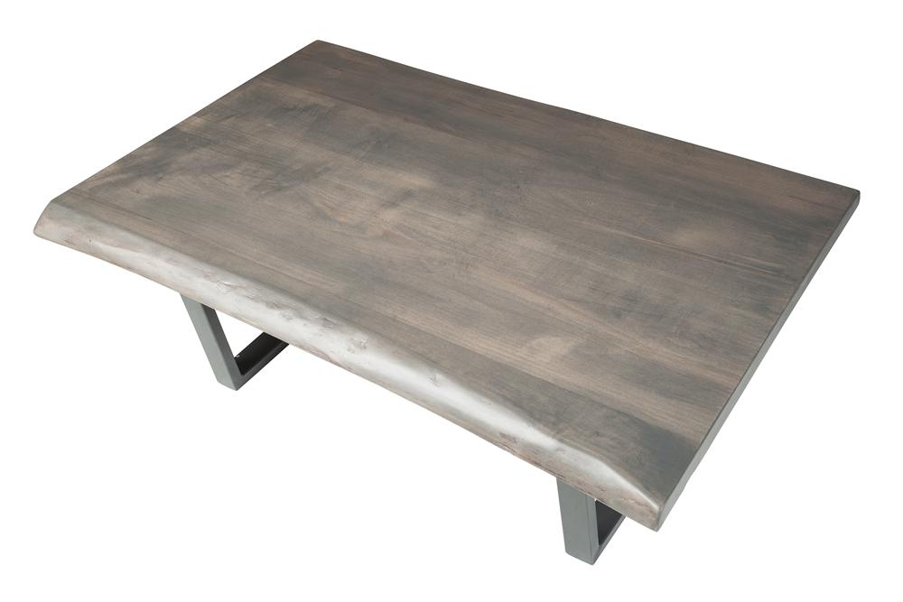 Grey Wash Live Edge North American Walnut Coffee Table ...
