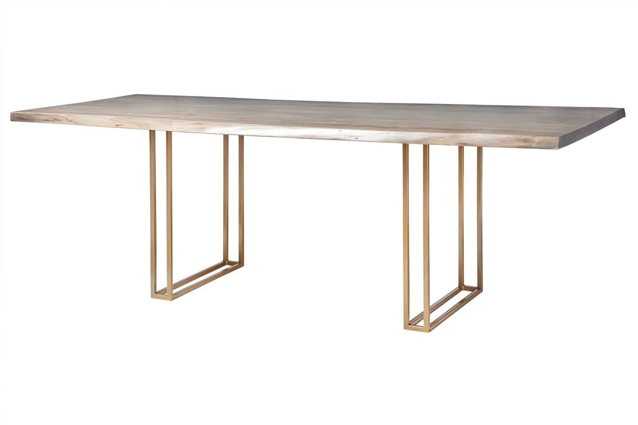 Live Edge Slab Dining Table 92 Grey Wash Khazana Home Austin Furniture