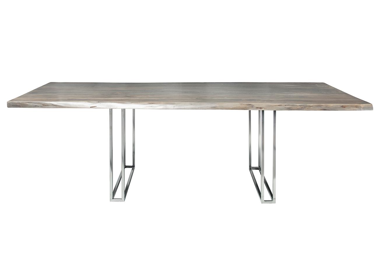 Live edge slab dining table 92 grey wash khazana home austin live edge slab dining table 92 grey wash geotapseo Images