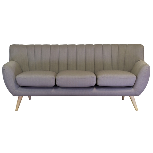 Lydia 3 Seater Sofa in Light Grey