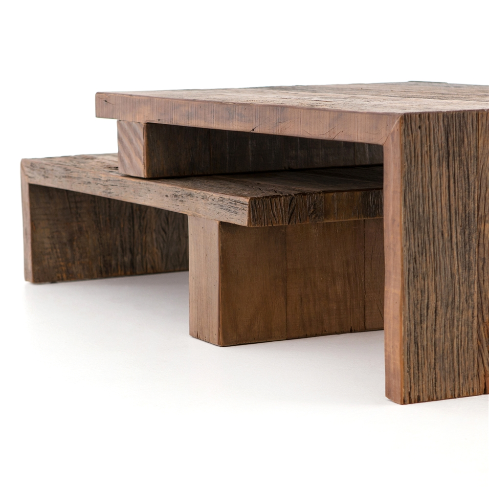 Ferris nesting coffee table the khazana home austin furniture store ferris nesting coffee table geotapseo Image collections